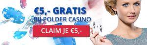 De Polder casino blackjack bonus zonder storten