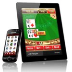 Telefoon, tablet, laptop of pc voor gokken in online casino