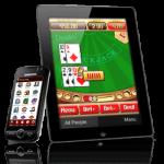 Telefoon, tablet, laptop of pc voor gokken in online casino