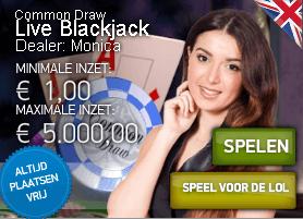 Steeds meer soorten blackjack online te spelen